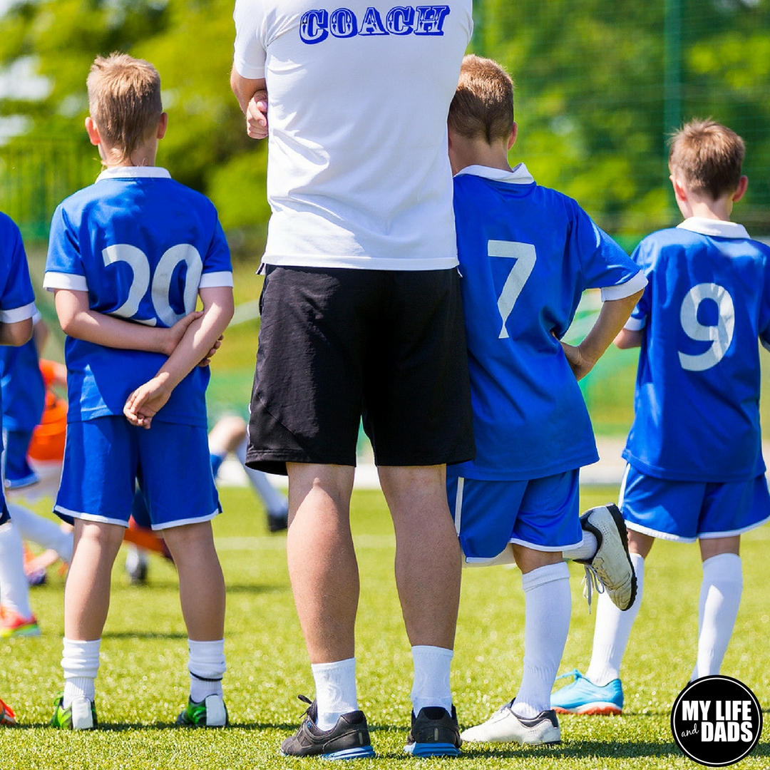 Dads should coach kids