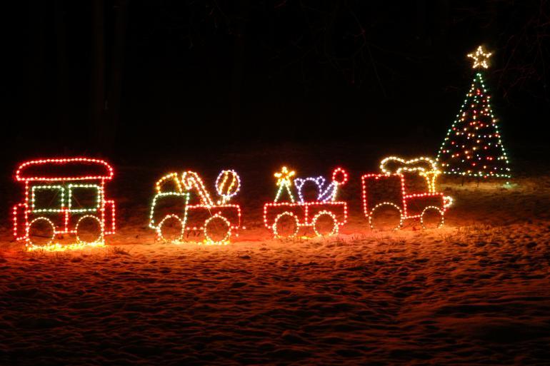 Holiday in Lights Sharonville Ohio